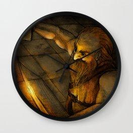Dwarf Wall Clock