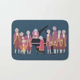 the piano forest Bath Mat