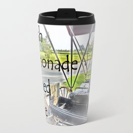Fresh Lemonade Served Here Travel Mug
