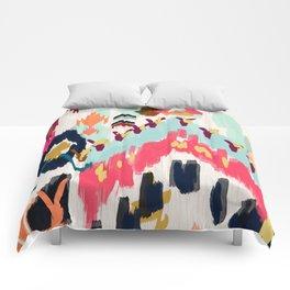 Bohemian Tribal Painting Comforters