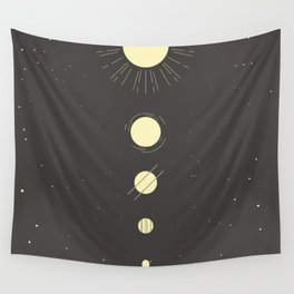 Galactic Gold Wall Tapestry