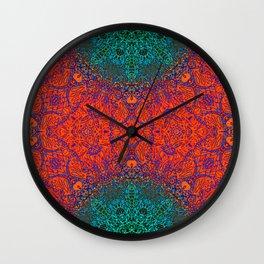 Mehndi Ethnic Style G351 Wall Clock