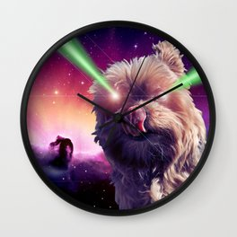 What A Wookie Wall Clock