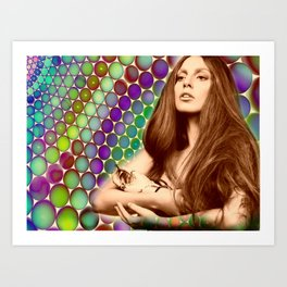 I wanna take a ride on your disco stick Art Print