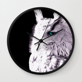 In sight of the owl  NEW VERSION!! Wall Clock