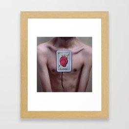 Mi Corazón Framed Art Print