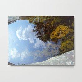 earth sky water Metal Print
