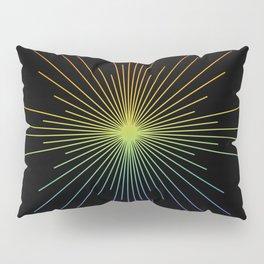 Full Spectrum Star Burst Pillow Sham