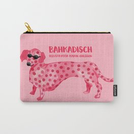 Pink hot dog Carry-All Pouch