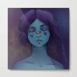 Nebula - Digital Painting Metal Print