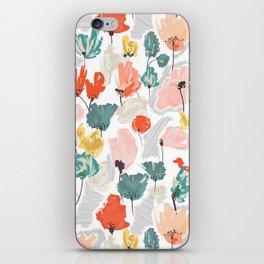 Wild Beauty Saffron iPhone Skin