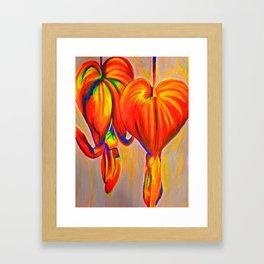 Lamprocapnos Framed Art Print