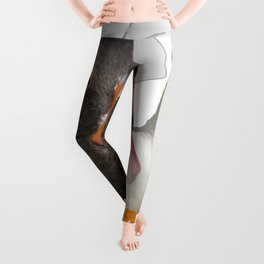 Thankful and Blessed Thanksgiving Pilgrims Leggings