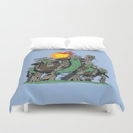 The Planetrees Duvet Cover