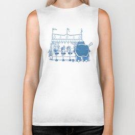 I Choose Blue Biker Tank
