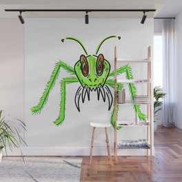 Alien Insect Monster Wall Mural