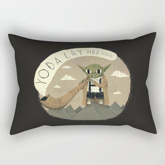 yodaling (grey colour option) Rectangular Pillow