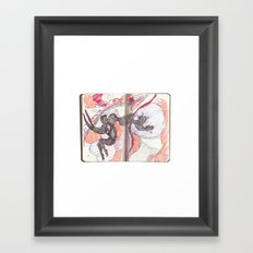 what if you can't sleep Framed Art Print