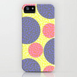 A-mazed circles iPhone Case