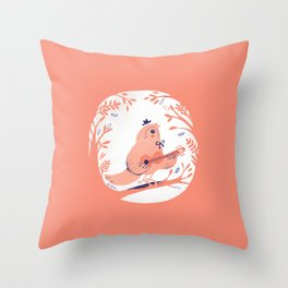 ABC print #3 Throw Pillow
