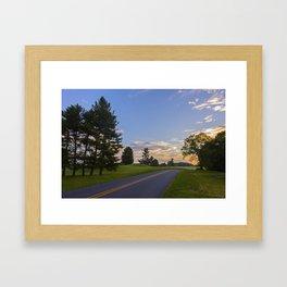 Sunrise Ahead Framed Art Print