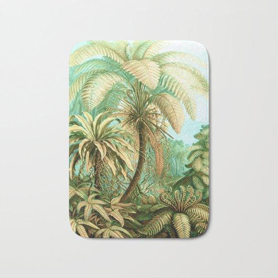 Vintage Tropical #society6 #buyart #painting Bath Mat
