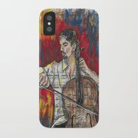 cello iPhone & iPod Cases featuring Cello 1 by Ed Rucker