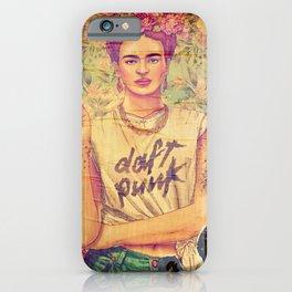 daft punk & frida iPhone Case