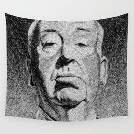 Fingerprint - Hitchcock Wall Tapestry