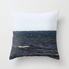 Breakwall Throw Pillow