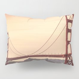 Golden Gate Bridge (San Francisco, CA) Pillow Sham