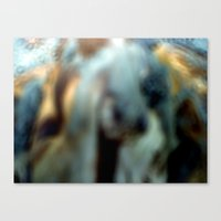 donkey Canvas Prints featuring Donkey by Gelasma=Kalomel