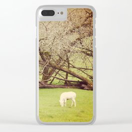 The queen Clear iPhone Case