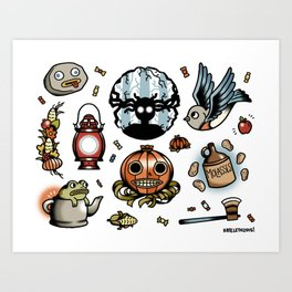 Into The Unknown Flash Sheet Art Print