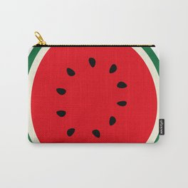 Fruity Watermelon Retro Graphic Carry-All Pouch