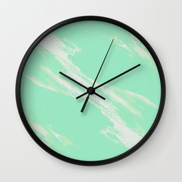 Greener on the Other Side Wall Clock