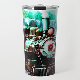 starry night train Travel Mug