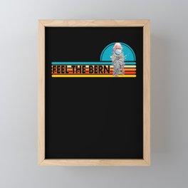 Bernie Sanders Meme Feel the Bern Framed Mini Art Print