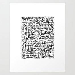 For Alan Art Print