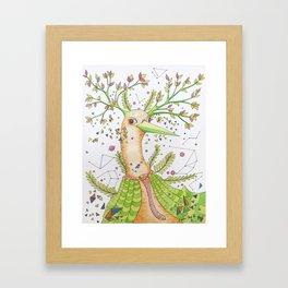 Forest's hear Framed Art Print