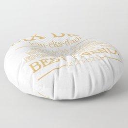 MX DAD Floor Pillow