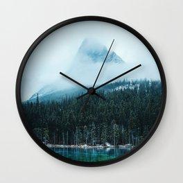 Grassi Lakes III Wall Clock