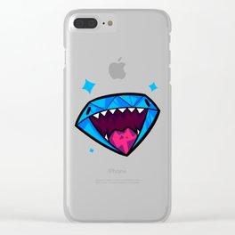 Gem Friend! Clear iPhone Case