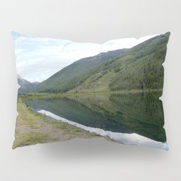 Symmetry and Serenity on Crystal Lake Pillow Sham