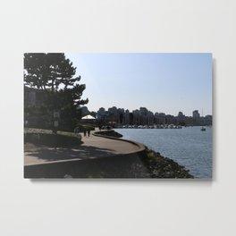 Seawall 1 Metal Print