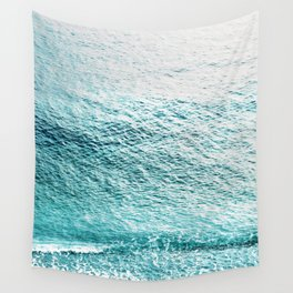 CLEAR BLUE SEA in Greece Wall Tapestry