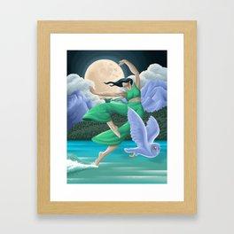 Sheet of Glass Framed Art Print