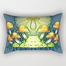 Mushroom Ascension Rectangular Pillow