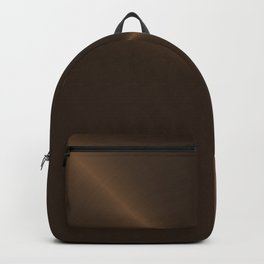 Dark Brown Bronze Metal Backpack