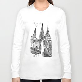 NYC Silhouettes Long Sleeve T-shirt